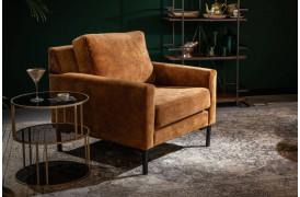 Houda er en flot lænestol, der kan fås i flere farver fra Dutchbone.