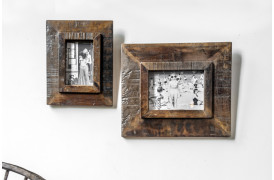 Her ses et billede af Factory vintage fotorammer fra vores Unika Collection.