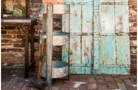 Her ses et billede af unika jern stativet fra vores Unika Collection.