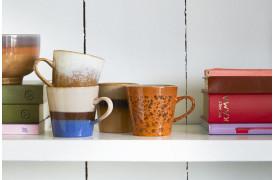 70'er keramik americano kopper – 4 stk.