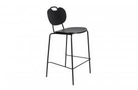 Aspen Wood barstol fra Decoholic i farven sort.