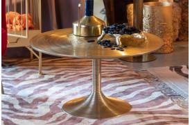 Hypnotising sofabord - Guld