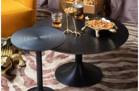 Leder du efter et rundt sofabord i en Sort farve?