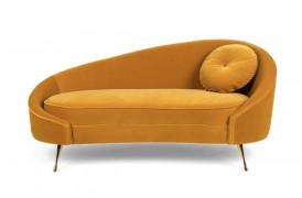 Der er noget Art Deco-agtigt over denne sofa fra Bold Monkey.