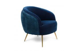 So Curvy lounge chair - Blå