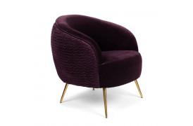 So Curvy lounge chair - Lilla