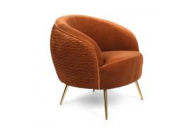 So Curvy lounge chair - Orange