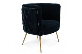Such A Stud lounge stol - Mørkeblå