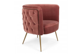 Such A Stud lounge stol - Pink