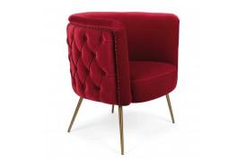 Such A Stud lounge stol - Rød
