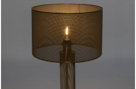 Sweet Mesh bordlampe - Guld
