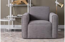 Her ses et billede af Bor lænestolen fra Zuiver.