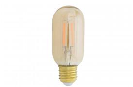 Flot og klassisk dæmpbar pære med synlige glødetråde, som giver et varmt og hyggeligt lys.