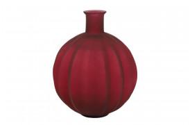 Den smukke Palloci glasvase i rød fra BoShop Collection.