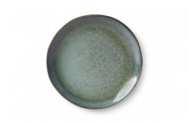 70'er keramik desserttallerken