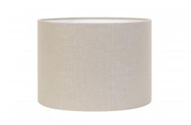 Livigno lampeskærmen er her en elegant Lysegrå cylinderformet lampeskærm.
