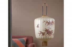 Traditionel lanterne L - Cremefarvet
