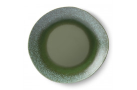 70'er keramik middagstallerken