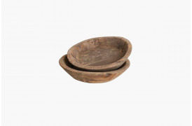 Her ses et billede af Wooden skåle fra vores Unika Collection.