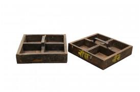 Her ses et billede af Carpenter bakke med fire rum fra vores Unika Collection.