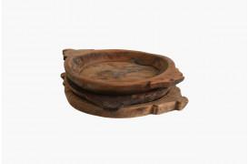 Her ses et billede af vores unika fad i træ fra vores Unika Collection.