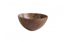 Her ses et billede af vores kokosnøddeskaller skåle fra vores Unika Collection.