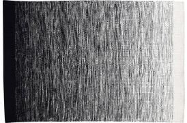 Cayman tæppe - Sort / hvid