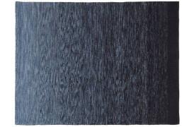 Cayman tæppe - Sort / blå