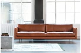 Må vi præsentere denne flotte lædersofa med navnet Main lædersofa fra Corium Italia.