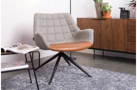 Her ses et billede af Doulton loungestol fra Zuiver.