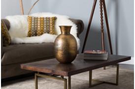 Bahir vasen giver dig en gylden orientalsk stemning i hjemmet.
