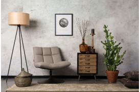 Bar lounge stolen er Dutchbones bud på en komfortabel afslapningsstol.