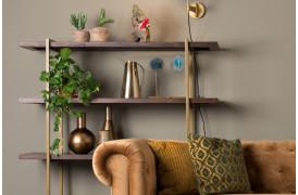 Class reolen er en trendy reol til boligen i mørkt træ fra Dutchbone.