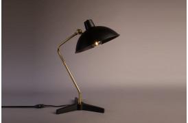 Billedet viser Devi bordlampen fra Dutchbone i farven Sort.