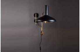 Billedet viser Devi væglampen fra Dutchbone i farven Sort.