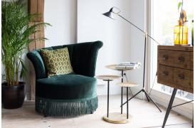 Lad Art Deco stilen komme til udtryk igen og indret dig med Flair lounge stolen fra Dutchbone.