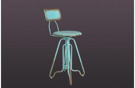 Ovid barstolen fra Dutchbone er en vintage barstol.