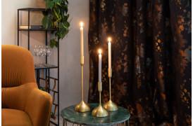 Sesta lysestagerne fra Dutchbone er nogle flotte og skulpturelle lysestager.