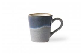 Fineste espresso kop i nuancen Ocean fra 70'er keramik.