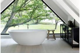 Møbler til badeværelset med Anders - skænken fra Ethnicraft.