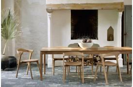 Bok Teak - spisebordet er en møbelnyhed fra Ethnicraft her i 2020.