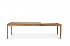 Billedet viser bordet i 180 / 280 x 100 cm.