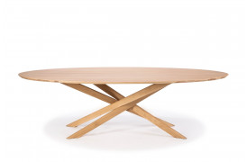 Mikado Eg - Ovalt spisebord 50181