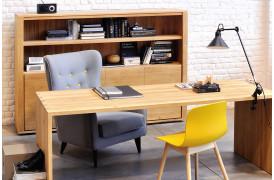 Her på billedet ses Office Eg skrivebordet fra Ethnicraft.