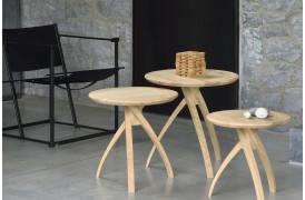 Twist sidebordene fås i tre forskellige størrelser.