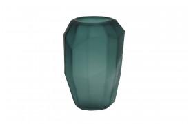 Flamengo vase i mørk grøn