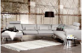 Indret dig med den elegante Forli sofa fra BoShop Collection.