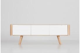 Ena tv-bordet på 135 cm fås med to forskellige dybder.