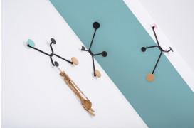 Hook knagerækken kan vælges i tre forskellige modeller.