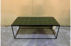 Glazed sofabord Grøn *Outlet*